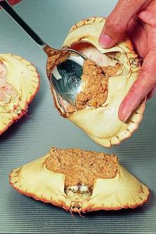 Crabes farcis à l'antillaise