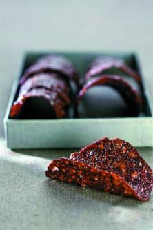 Tuiles au cacao