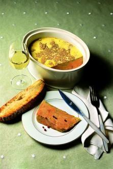 Foie gras frais en terrine