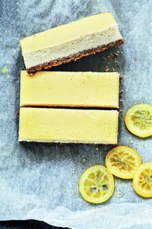Cheesecake au citron à la ricotta