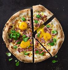 Pizza carbonara - Jobi pizza