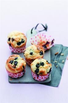 Muffins noix et myrtilles