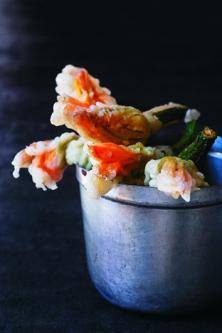 Beignets de fleurs de courgettes