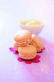 Macaron amande et sirop d'érable