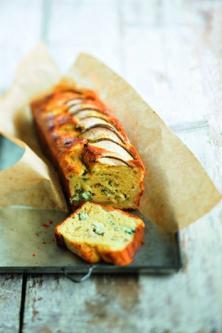 Cake au bleu et aux poires