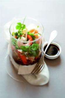 "Salade de ""germes de soja"" aux saveurs marines"