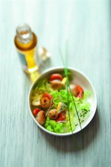 Salade de pétoncles