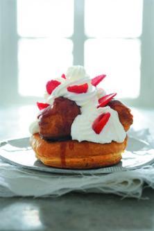 Saint-honoré aux fraises