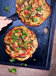 Mini-tortillas aux légumes d'été