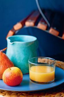 Jus de pomme, poire et citron