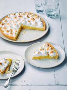 La fabuleuse tarte au citron meringuée