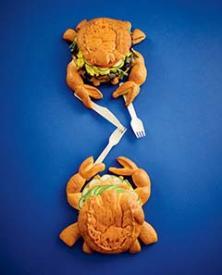 Les crabes sandwich