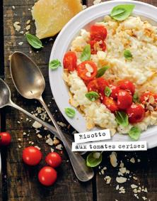 Risotto aux tomates cerises