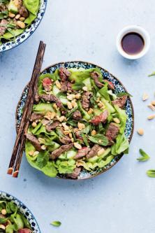 Salade bœuf thaie