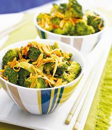 Sauté de brocoli aux amandes