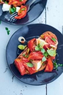 Tartines comme une panzanella