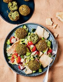 Salade libanaise aux falafels