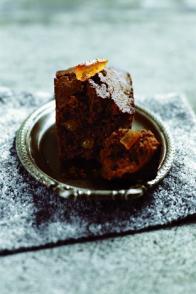 Mini-cakes au chocolat et écorces d'orange confites