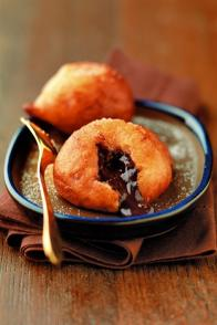 Beignets de truffes au chocolat