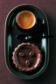 Tartelettes au chocolat et au café