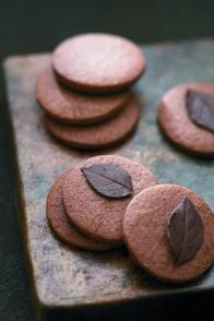 Biscuits aux feuilles de rose
