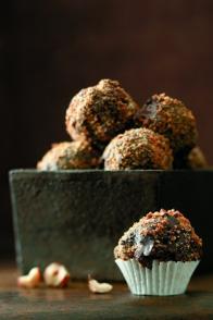 Boules croustillantes au chocolat