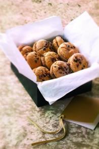 Macarons café-chocolat blanc
