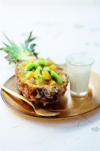 Ananas en surprise à la créole