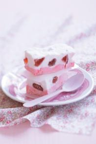 Guimauves à la fraise