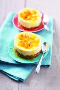 Cheesecakes au Kiri® et aux Petits Bruns
