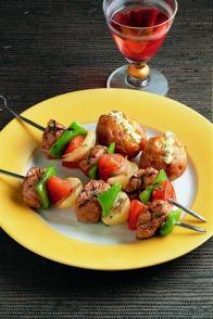 Brochettes d'agneau à la provençale