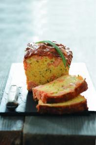 Cake au saumon et à la ciboulette