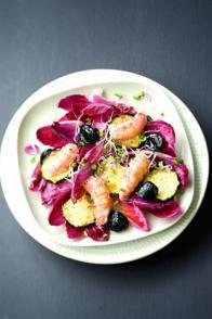 Salade de langoustines aux courgettes