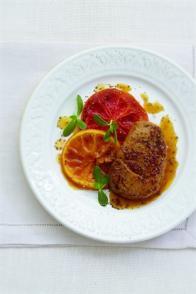 Foie gras chaud aux agrumes