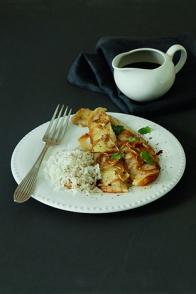 Filets de poisson à l'asiatique