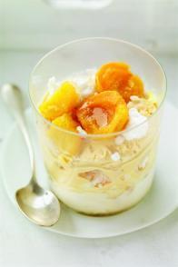 Vacherin vanille-caramel aux fruits caramélisés