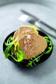 Terrine de foie gras express à la vapeur