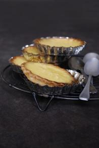 Tartelettes au chocolat blanc