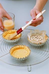 cuire une pâte à blanc