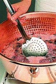 confitures : cuisson en un temps