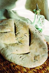 Fougasse et pain pour fondue