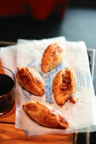 Empanadas à l'oignon et au chorizo