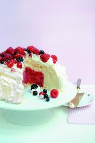 Vacherin aux fruits rouges
