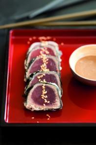 Bouchées de thon en tempura