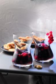 Sangria aux fruits rouges
