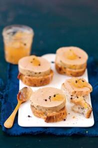 Foie gras mi-cuit express et gelée au poivre de Madagascar