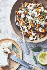 Salade tiède de quinoa façon OTTOLENGHI