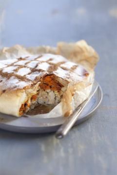 Pastilla de dinde à la citronnelle