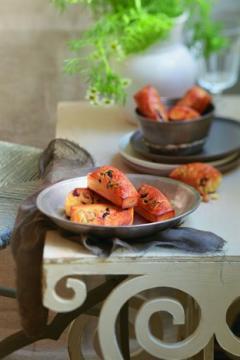 Cake aux olives et au thym