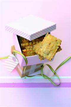 Biscuits salés aux petites graines